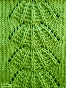 Parasol knitting stitch