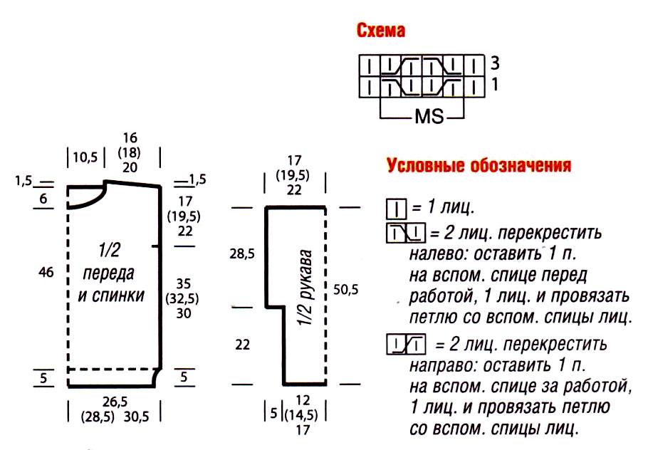 sviter_krupnoy_vyazki_s_uzorom_iz_sot-scheme-spicami-vyazanie_spicami_-_kofty_shemy_modeley