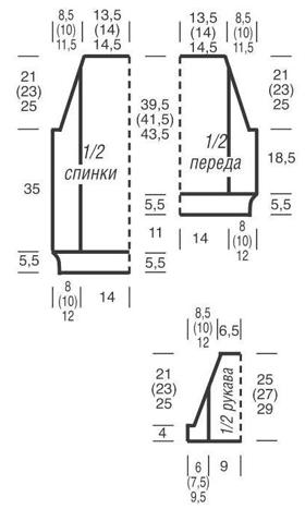vyazanyj-pulover-s-azhurnymi-korotkimi-rukavami-v