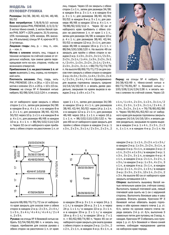 Туника спицами по схеме вязания с описанием вязание для женщин