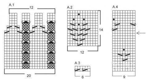 uzorchatoe-plate-korotkim-rukavom-scheme-vyazanie-spicami-dlya-zhenshchin-platya-sarafany-dlya