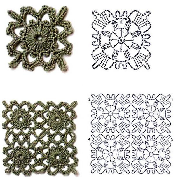 схемы вязания для начинающих с подробным описанием