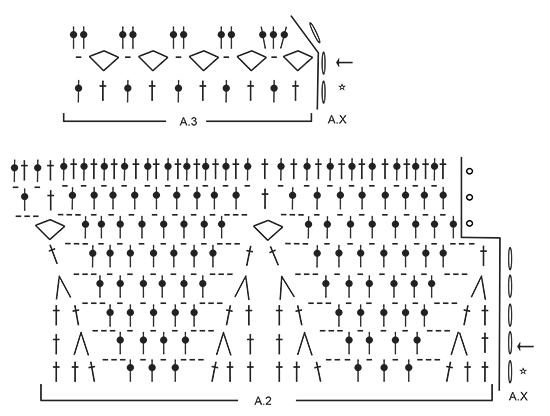 Яркий коврик крючком вязание для начинающих схема с описанием