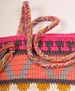 вязание ручек для сумки