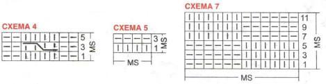 Схема вязания джмпера для девочки и мальчика