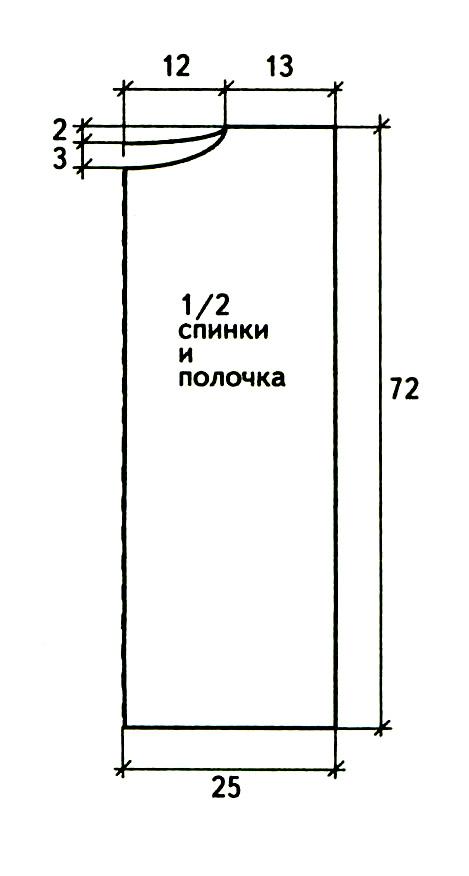 вязание для женщин схема с описанием
