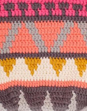 схема вязания летней сумки крючком
