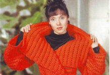 пальто для женщин крючком схема с описанием