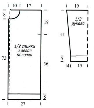 схема вязания с описанием