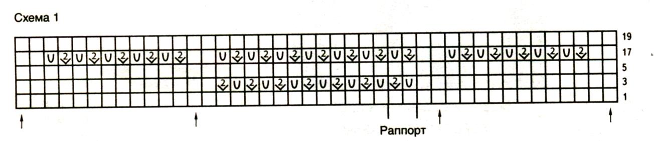Бежевый топ спицами с оборками схема вязания с описанием бесплатно