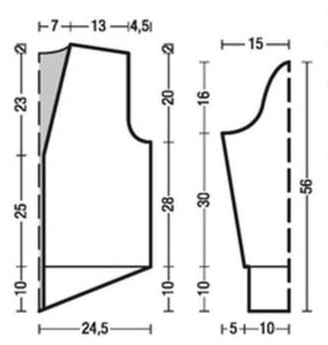 Кардиган спицами с узором из Ромбов схема вязания спицами бесплатно с подробным описанием