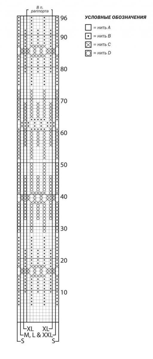 Удлиненный свитер спицами свободного кроя схема вязания для женщин с описанием бесплатно
