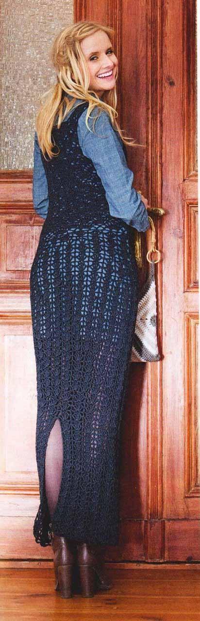 Облегающее платье крючком схема вязание крючком для женщин с подробным описанием бесплатно