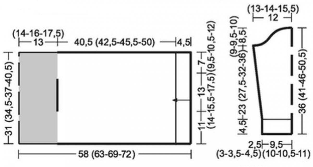 Объемная кофта для девочки спицами схема вязания с описанием бесплатно