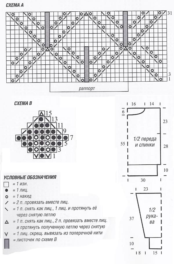 Вязаный джемпер спицами и снуд цвета магнолии схема вязания спицами с подробным описанием