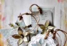 Скрапбукинг новогодние открытки идеи для вдохновения