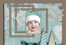 Скрапбукинг Новый год - Идеи для вдохновения
