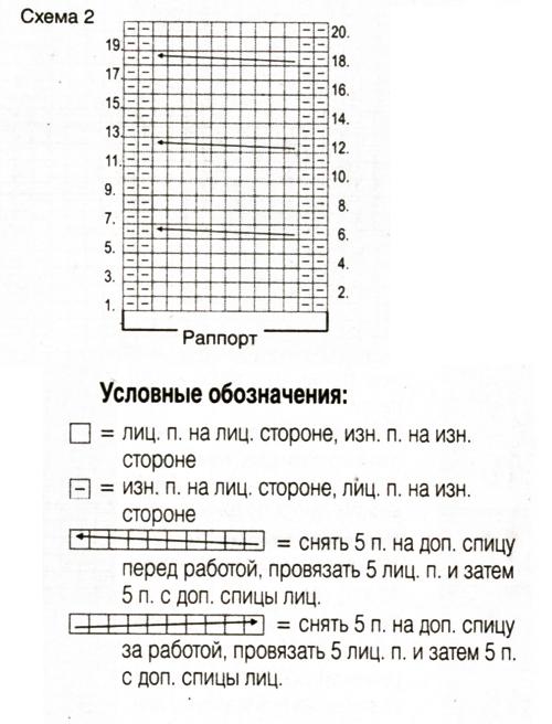 Серый пуловер спицами с рукавом реглан схема вязания спицами с условными обозначениями