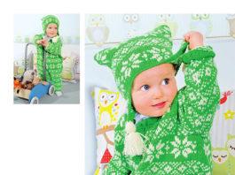 Детский теплый комплект: комбинезон, варежки и шапочка схема вязания спицами с подробным описанием для женщин