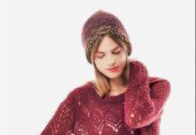 Ажурный пуловер спицами с свободного силуэта схема вязания спицами с подробным описанием