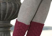 Носки спицами шахматным узором схема вязания спицами с подробным описанием