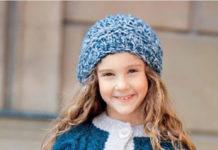 Детский жилет спицами с карманами и контрастной планкой схема вязания спицами
