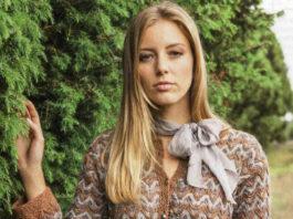 Жакет спицами в стиле Шанель схема вязания с подробным описанием