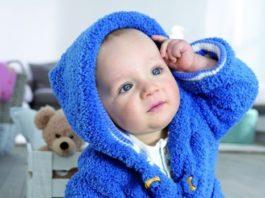 Теплый жакет для малыша спицами от 2 месяцев схема вязания с подробным описанием для новорожденных детей спицами