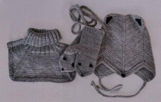 Детский комплект спицами от 1 года до 1,5 лет схема вязание спицами с подробным описанием для детей