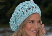 Летняя шапочка крючком: вязание для начинающих схема вязания с подробным описанием
