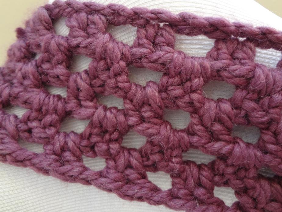 Простой снуд крючком: вязание для начинающих