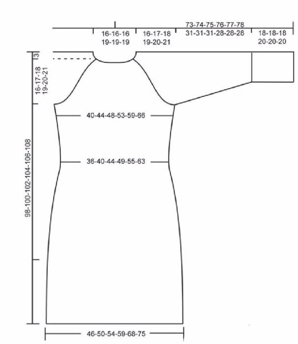 Женственное платье с ажурным и рельефным узором выкройка