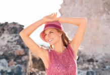 Пляжное платье спицами ажурным узором схема вязания спицами для женщин
