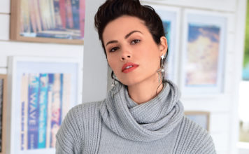 Серый пуловер спицами и снуд в комплекте схема вязания спицами с подробным описанием