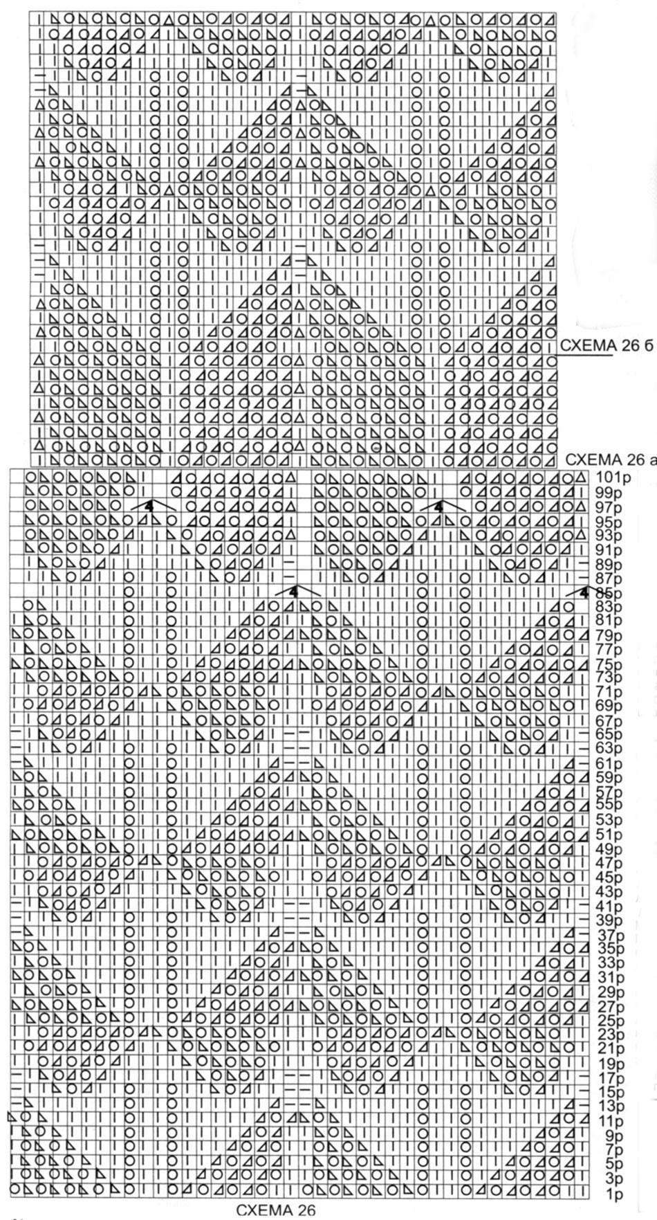 Летнее платье спицами с ажурным узором схема вязания ажурного узора