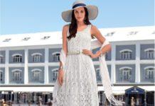 Кружевное платье спицами на лето схема вязания спицами с подробным описнием