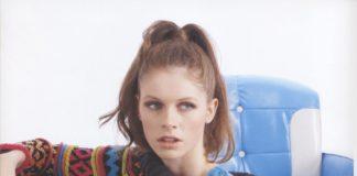 Женский джемпер спицами с жаккардовым узором и широким воротником схема вязания спицами с подробным описанием