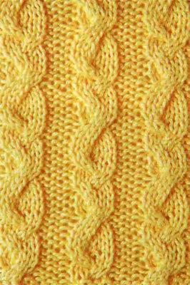 Структурный узор спицами с двойной косой схема вязания с описанием