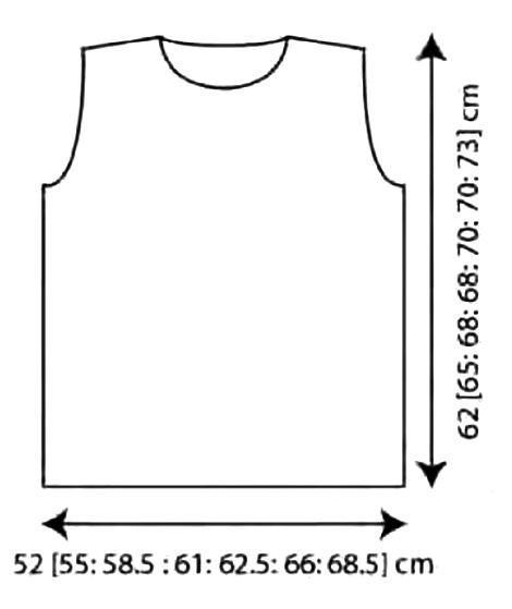 Мужской свитер спицами с узором соты выкройка