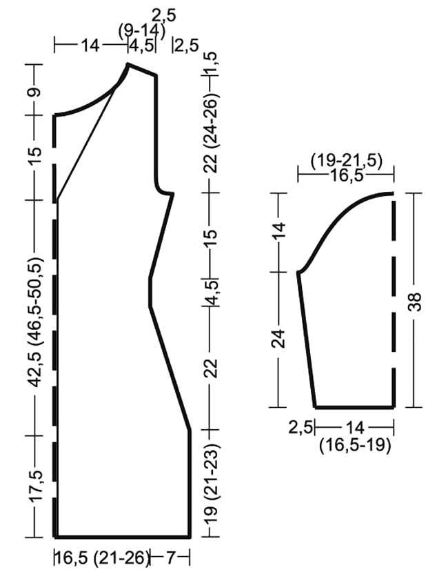 Элегантное платье крючком с открытой спинкой выкройка