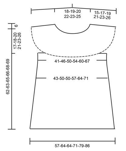 Расклешенный топ крючком с ажурным узором выкройка