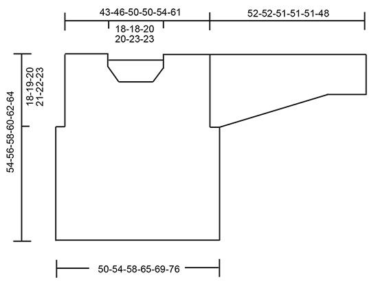 Летний джемпер крючком светло-бежевый выкройка