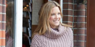 Схема вязания женского свитера спицами оверсайз свободного силуэта