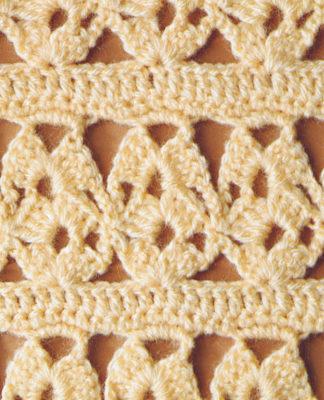 ажурный узор Уроки вязания крючком для начинающих