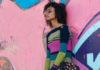 Облегающее платье спицами в полоску схема вязания с подробным описанием
