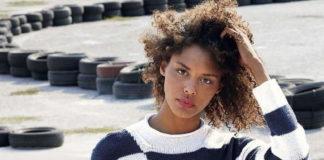 Стильный пуловер в полоску спицами схема вязания с подробным описанием для женщинам