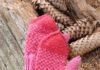 Варежки детские с жаккардовым узором схема вязания с подробным описанием