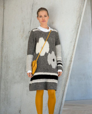 Платье крючком с цветочным мотивом схема вязания с подробным описанием