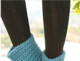 схема вязания крючком носки гетры и гольфы портал рукоделия и моды
