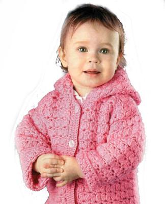 вязание детям крючком от 0 до 3 и старше схемы с описанием